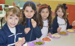 Salada Grega - 1� ano A